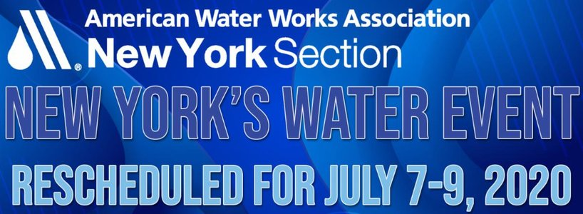 NY's Water Event (AWWA) – RESCHEDULED FOR JULY