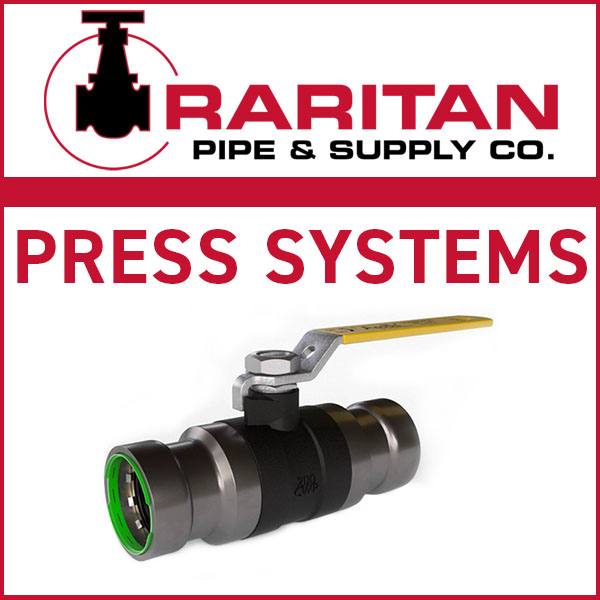 Raritan Pipe & Supply – Pressing: Speed, Ease and Reliability for Piping Systems