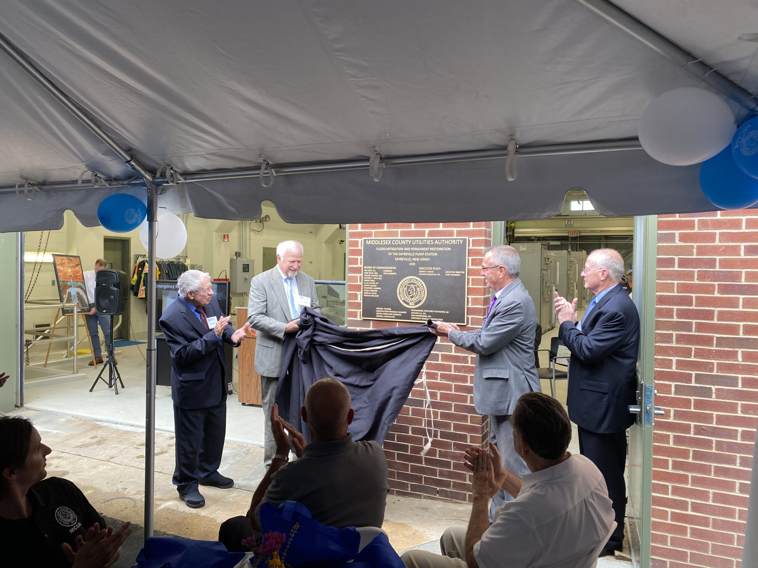 Read more about the article MCUA Sayreville Pump Station Ribbon Cutting Ceremony